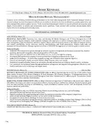 Retail Salesperson Resume Sample – Directory Resume