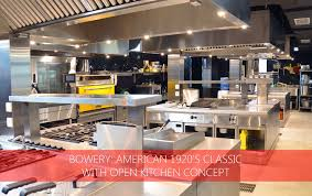 restaurant open kitchen concept. BOWERY: AMERICAN 1920\u0027S CLASSIC WITH OPEN KITCHEN CONCEPT Restaurant Open Kitchen Concept I