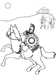 Ancient Rome Soldier Coloring Page Click To See Printable Version Of