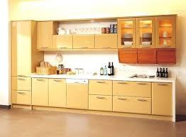 kitchen wall cabinets glass