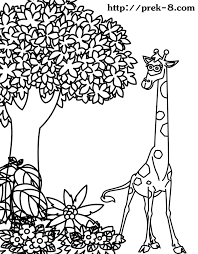 Small Picture Free Coloring Pictures Of Wild Animals Coloring Pages