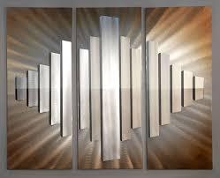 sunburst city contemporary wall panel set on nova lighting wall art with stohans showcase unique wood sculptures bronze sculptures