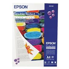 <b>Epson</b> A4 <b>Double Sided Matte</b> Photo Paper (50 Pack) C13S041569 ...