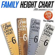 Amazon Height Chart Amazon Com Growth Chart Handmade