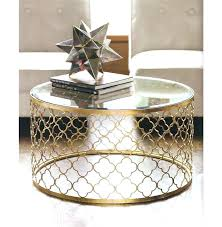 gold round coffee table gold round coffee table s gold side table with glass top gold