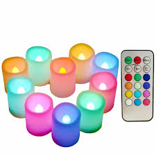 Color Changing Battery Tea Lights Cheap Battery Operated Color Changing Led Candles Find