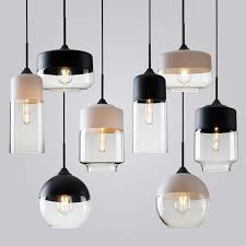modern contemporary retro art metal glass pendant lamps cafe restaurant study lamps milan designer pendant lights hanging light fixtureshanging