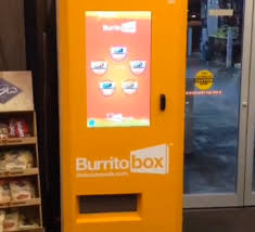 Vending Machine Magazine Enchanting Say Hello To Burritobox The World's First Burrito Vending Machine