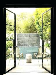 outdoor glass door steel and glass doors black patio doors doors awesome steel patio doors sliding outdoor glass door