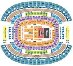 Kenny Chesney Seating Chart Cowboy Stadium Kenny Chesney Florida Georgia Line Old Dominion At At T