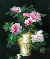 beautiful flower vase paintings 7