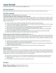 Sample Of Making Resume Interesting Special Education Teacher Resume Samples Examples Math Assistant R