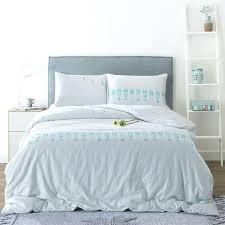 cotton duvet cover sets blue fish quilt cover 3pcs blue birds beddig set white duvet cover