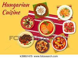 Clipart   Ungarische, Küche, Unterschrift, Geschirr, Symbol. Fotosearch    Suche Clip