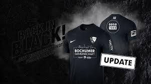 In wenigen tagen präsentiert der vfl bochum 1848 seine neuen trikots für die saison 2020/21! Back In Black Vfl Bochum 1848