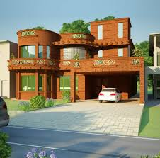 Small Picture 3D front elevation of house Good Decorating Ideas