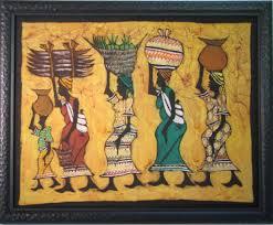 african batik framed