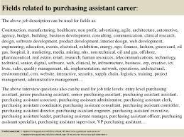 Purchasing Assistant Job Description Staruptalent Com
