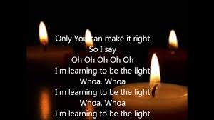 Be The Light Learning To Be The Light Newworldson