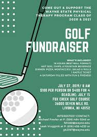 Pt Classes Of 2020 2021 Hosting Golf Outing July 27