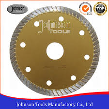 tile cutting tools 105mm sintered turbo saw blade for ceramic tiles hot press