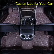Car Floor Mats Case for Toyota Sequoia 2/3 rows Customized Auto 3D ...