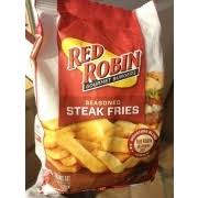 red robin seasoned steak fries nutrition grade b minus