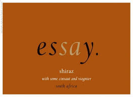 tasting notes essay shiraz swartland south africa essay shiraz swartland south africa label