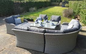 grand sofa corner dining garden furniture set