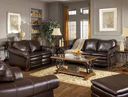 dark brown leather sofa decorating ideas with rugs that go couch grey decor couches living room