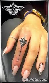 фото красивые тату на пальцах 12082019 109 Beautiful Finger