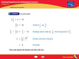 8 pre algebra