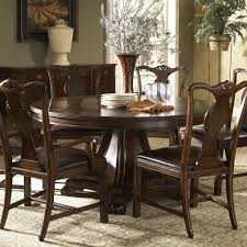 Traditional Round Dining Table With Inlay By Fine Furniture Design - Traditional dining room set