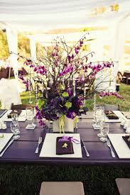 ... Incredible Image Of Wedding Table Decoration Using Purple And Green  Wedding Table Centerpiece Ideas : Casual ...
