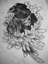 эскизы ворон значение татуировки с вороной Bird Tattoo Ideas