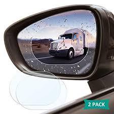 <b>Car Rearview Mirror</b> Protective Film, 2 Pack ACETEND Waterproof ...