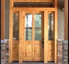 white craftsman front door. Craftsman Front Door With Sidelights Entry Doors Knotty Alder 2 Lite . White