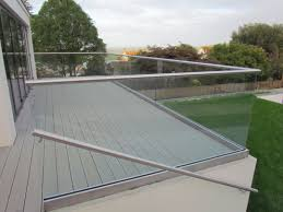 glass patio railing systems elegant glass stair railing cost per linear foot gl balcony systems detail