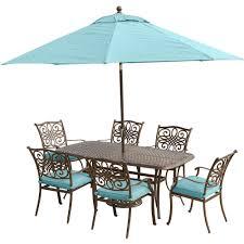 Blue Umbrella Patio Dining Furniture Patio Furniture The