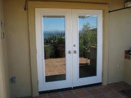 French Door Opening White Exterior French Doors