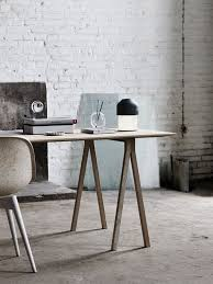 industrial office decor. Industrial And Vintage Office With A Warm-colored Desk Decor