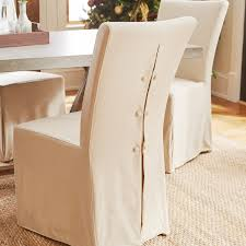 cotton duck dining chair slipcover 100 percent cotton material