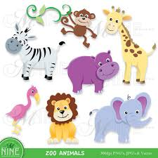zoo animals clipart. Exellent Zoo In Zoo Animals Clipart P