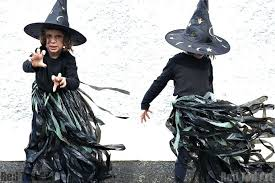 then pair it up with black leggings and a black top to make a super easy costume inspired by roald dahl s the witches read the full diy tutorial here