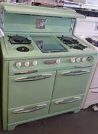 antique gas stoves vintage