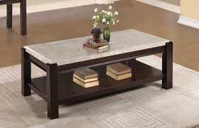 homelegance festus dark cherry coffee table