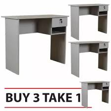 office table buy.  Table Tailee Furniture 1304 Office Table Grey BUY 3 TAKE 1 In Buy E