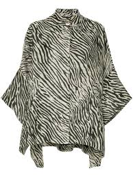 Layeur - <b>кейп</b> 'Opera' с принтом зебры - для женщин - Полиамид ...
