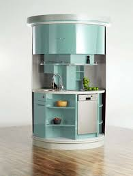 Compact Kitchen Furniture Awesome Compact Kitchen Cabinet For Small Spaces With Modern Stove