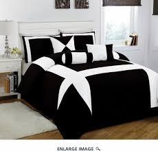 jefferson black and white comforter set